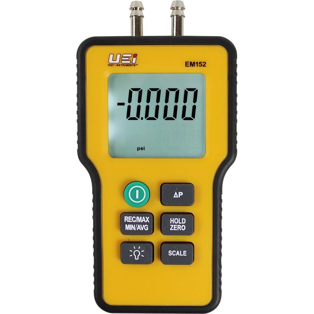 digital manometer. amazon.com: uei test instruments em152 dual differential digital manometer: home improvement manometer g
