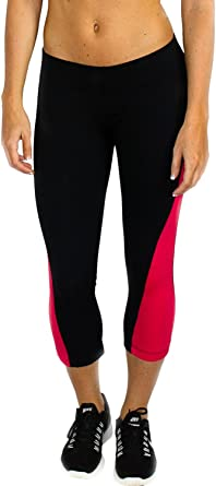 Fearless Capri Pants by Woolx Lightweight Compression Women/'s Workout Capris