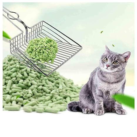 simpyfine - Cubo de Basura de Acero Inoxidable Hueco para Gato ...