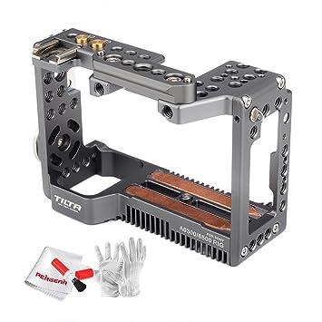 Tilta aleación de aluminio cámara jaula para cámaras Sony A6000 ...