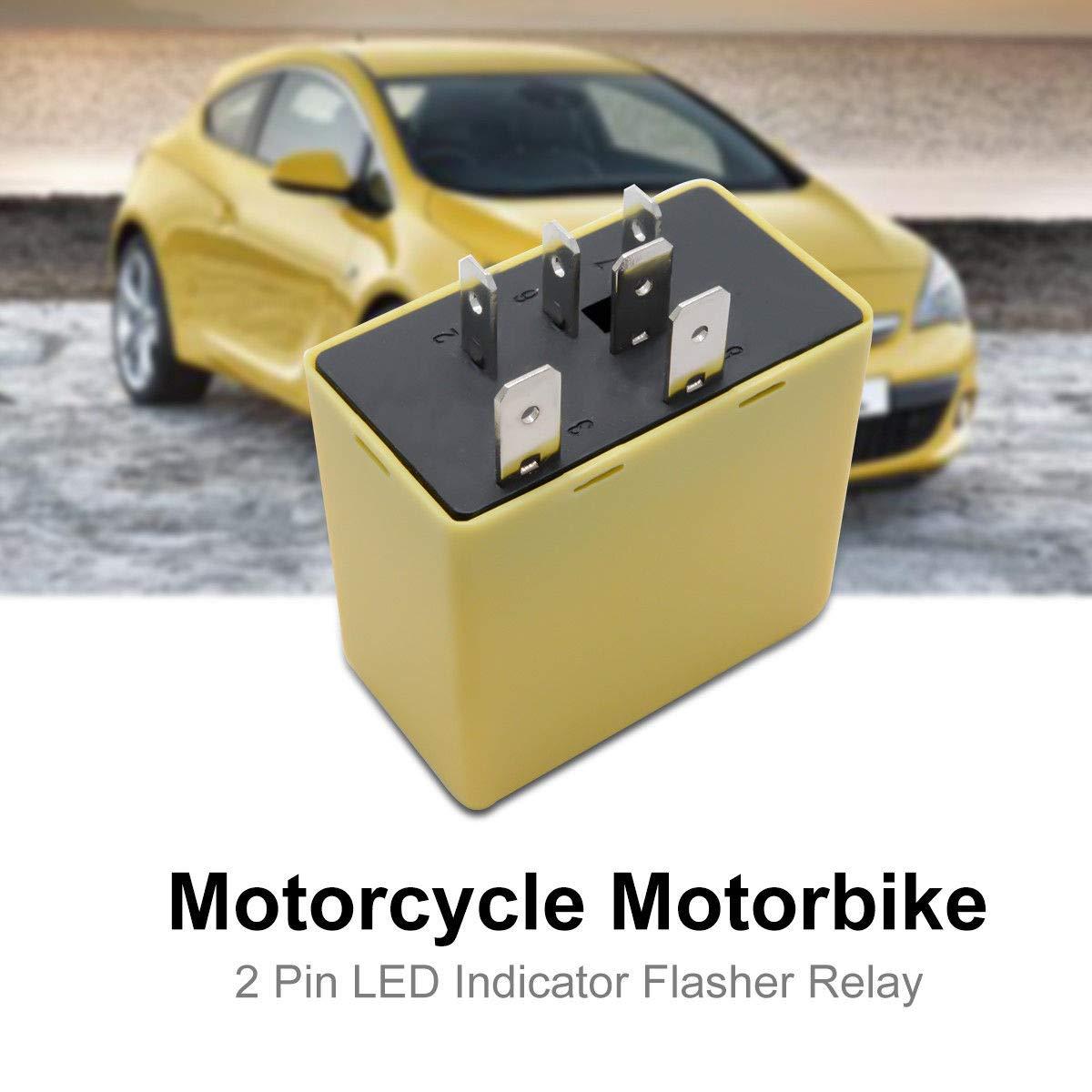 Iycorish Car Vehicle Flasher Hazard Indicator Relay For Vauxhall Astra 9134880 6238590