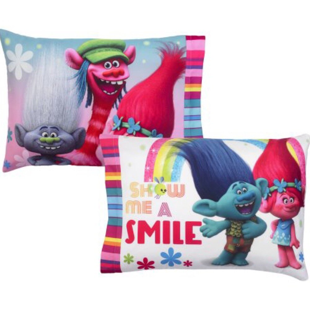DreamWorks Trolls Complete 4 Piece Girls Comforter Set - Twin by DreamWorks (Image #6)