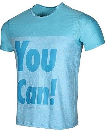 DEKO - Camiseta de Manga Corta para Hombre - Gimnasio/Yoga ...