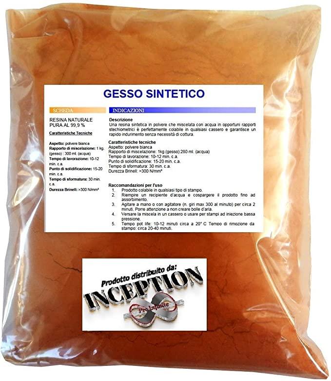 Inception Pro Infinite 2 kg del Mejor Yeso del Mercado - Yeso ...