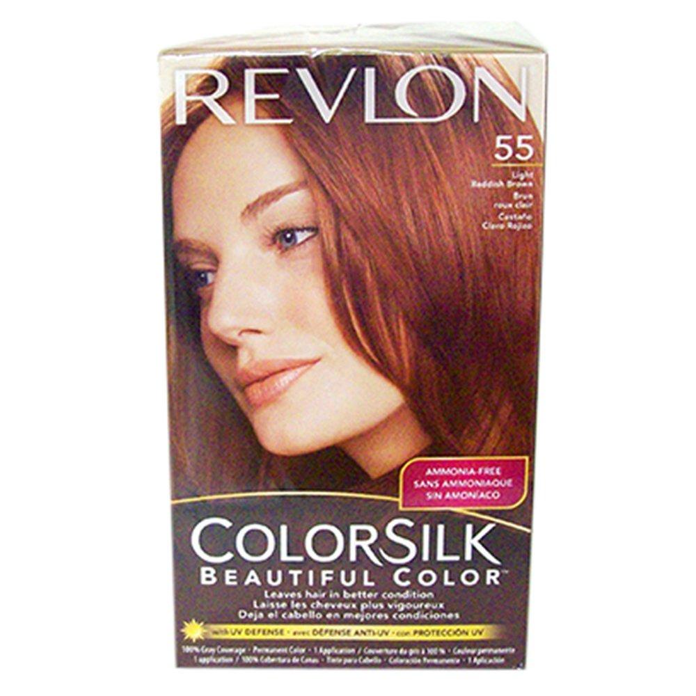 Amazon Revlon Hair Color Light Reddish Brown55 Beauty