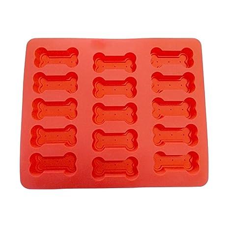 Bandeja de hielo molde de silicona con diferentes formas, reutilizable para horno herramienta para hornear