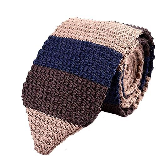 Corbatas Formal Clásica para Hombre Corbata Delgada de Punto de ...