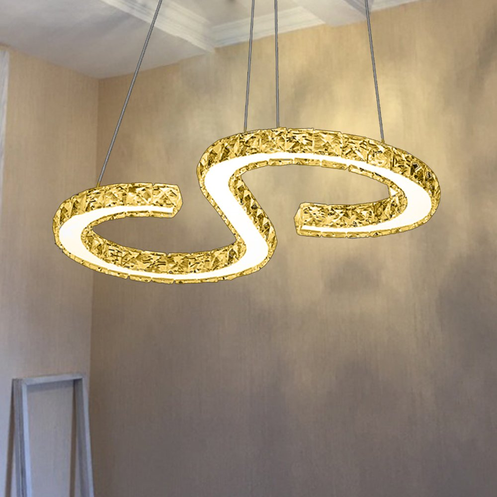 VINGO® LED Pendelleuchte, Esstisch Hängelampe Wohnzimmer Küche LED ...