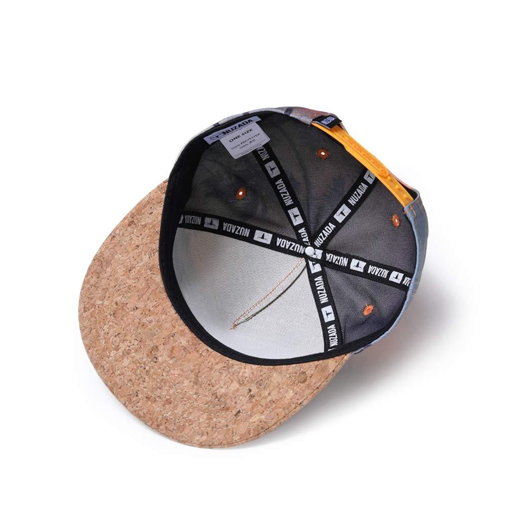 eec9d13b4c555 Amazon.com: Whoopsu Unisex 3D Print Hip Hop Dancing Baseball Cap Flat Bill Snapback  Adjustable Hat (Beach): Clothing