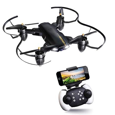 JOYGEEK Drone Plegable, Drone con Cámara HD, Giroscopio de 6 Ejes ...