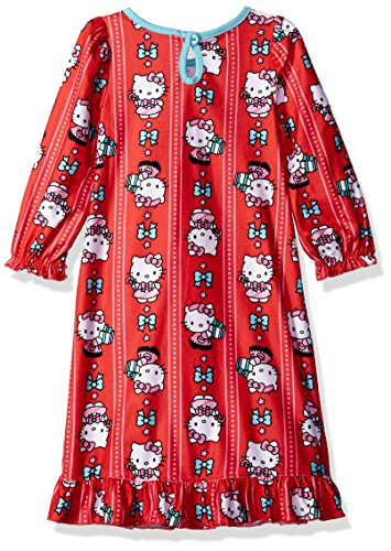 33c5123106 Hello Kitty Girls  Toddler Red Holiday Granny Gown