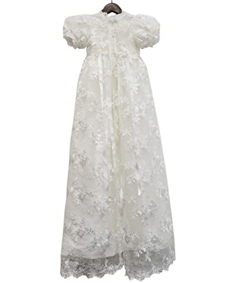 Abaowedding lace christening gowns baby baptism dress newborn baby dress 3 m