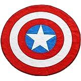 Marvel Captain America Shield Round Rug (52in)