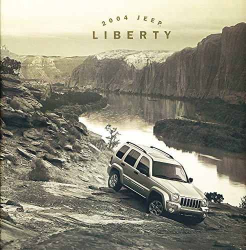 2004 Jeep Liberty 28-page Original Car Sales Brochure Catalog - Renegade Sport