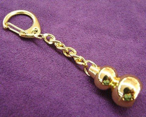 Metal Wu Lou Key Chain - feng Shui Import