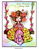 Spring Romantique Coloring Book: Elegant Romantic Ladies, Flowers, Peacocks, Swans Lacy Sunshine Adult Coloring Book (Lacy Sunshine's Coloring Books) (Volume 55)