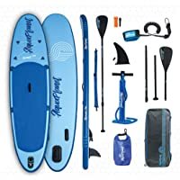 """aquaplanet ALLROUND TEN SUP Inflatable Stand Up Paddle Board Kit 