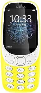 Nokia 3310 (2017) Dual-SIM 16MB Factory Unlocked 2G GSM phone (Yellow - Glossy) - International Version