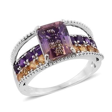 [Sponsored]TJC Women Platinum Plated 925 Sterling Silver Made with Swarovski® Zirconia Designer Ring s0Lb1fTCB