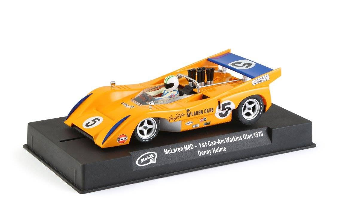 Slot.It McLaren M8D #5 1st Can-Am Waktin 1970 1:32 Performance Slot Car