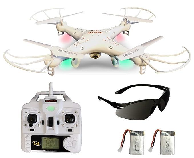 Syma X5C Upgrade Explorer Weiße Deutsche AGETECH GmbH Sonder-Edition, Drohnenführerscheinfrei und nicht Kennzeichnungspflicht