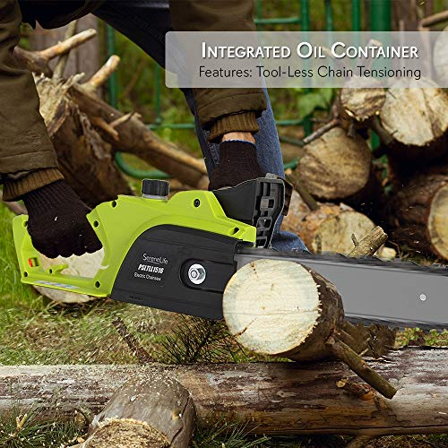 SereneLife Electric Chain-Saw