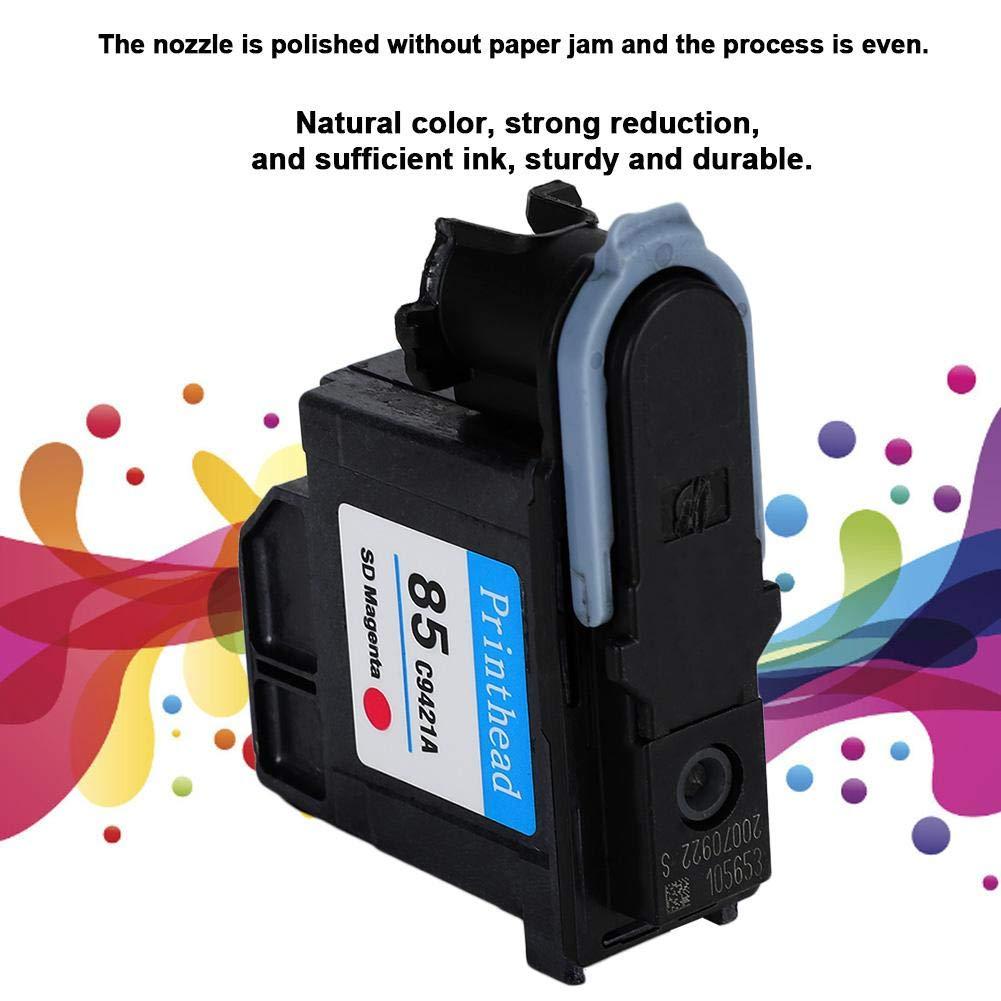 Testina di Stampa di Ricambio per HP Designjet 30 // 90R // 130 Serie Colore Naturale per HP85 Testina di Stampa a Inchiostro di Alta qualit/à Giallo C9422A