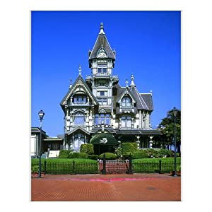 Media Storehouse 10x8 Print of The Carson Mansion in Eureka, California (13959509)