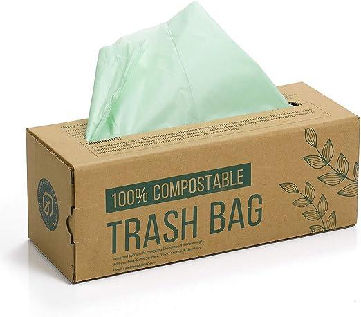 150 Bolsas Compost Liners Bolsas para residuos de cocina de 6L, 8L ...