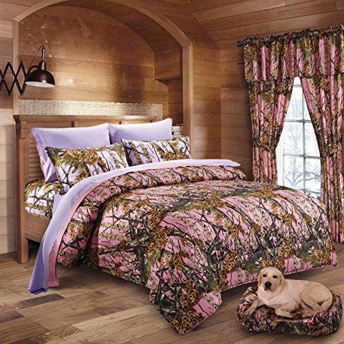 Pink-Purple-Woodland-Camo-Comforter-Sheet-Set-Bed-in-a-Bag
