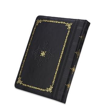 ENJOY-UNIQUE - Funda Estilo Libro para Libro de Leer, Estilo Retro, Universal, 15,2 cm, 15,2 cm