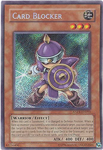 Card Blocker ANPR-EN093 Secret Rare Yugioh