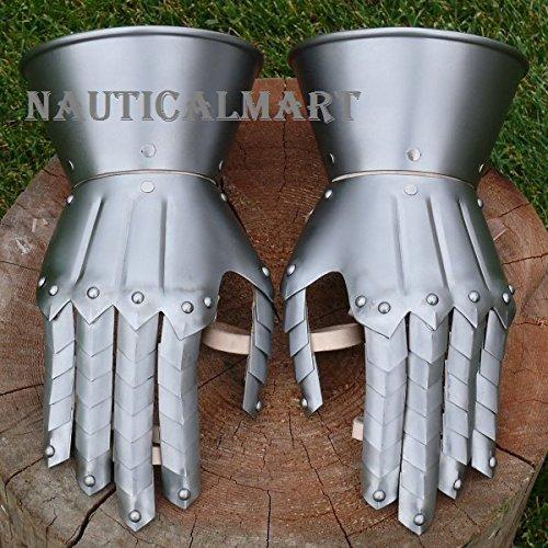 Medieval Knight Gauntlets Gothic Gauntlets Gloves By Nauticalmart by NAUTICALMART (Image #1)
