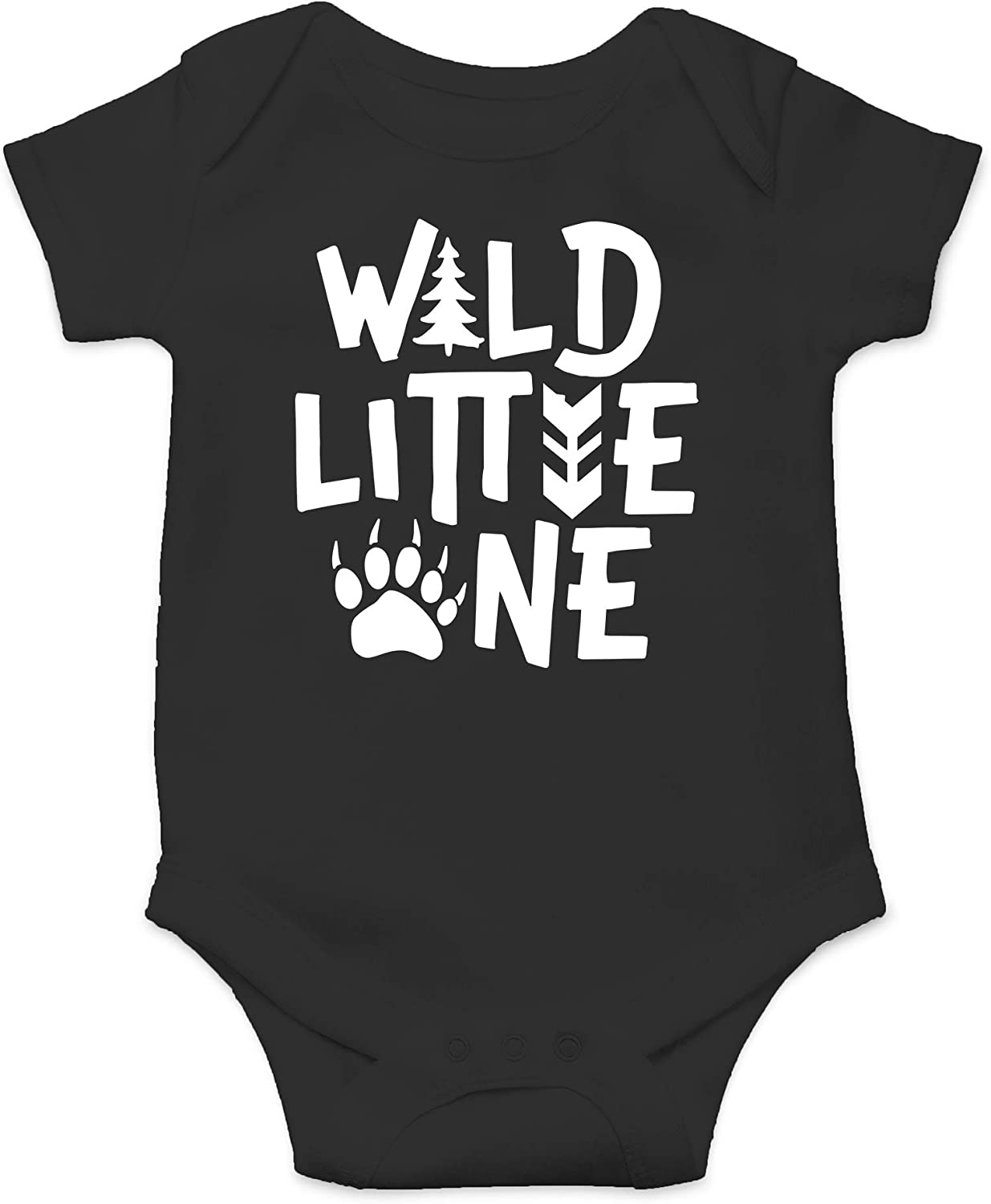 Wild Little One - Let The Adventure Begin Coming Home Outfit - Cute Infant One-Piece Baby Bodysuit