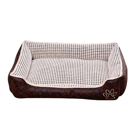 Sun Glower Cama con Perro Cama para Perros, cómodo colchón ...
