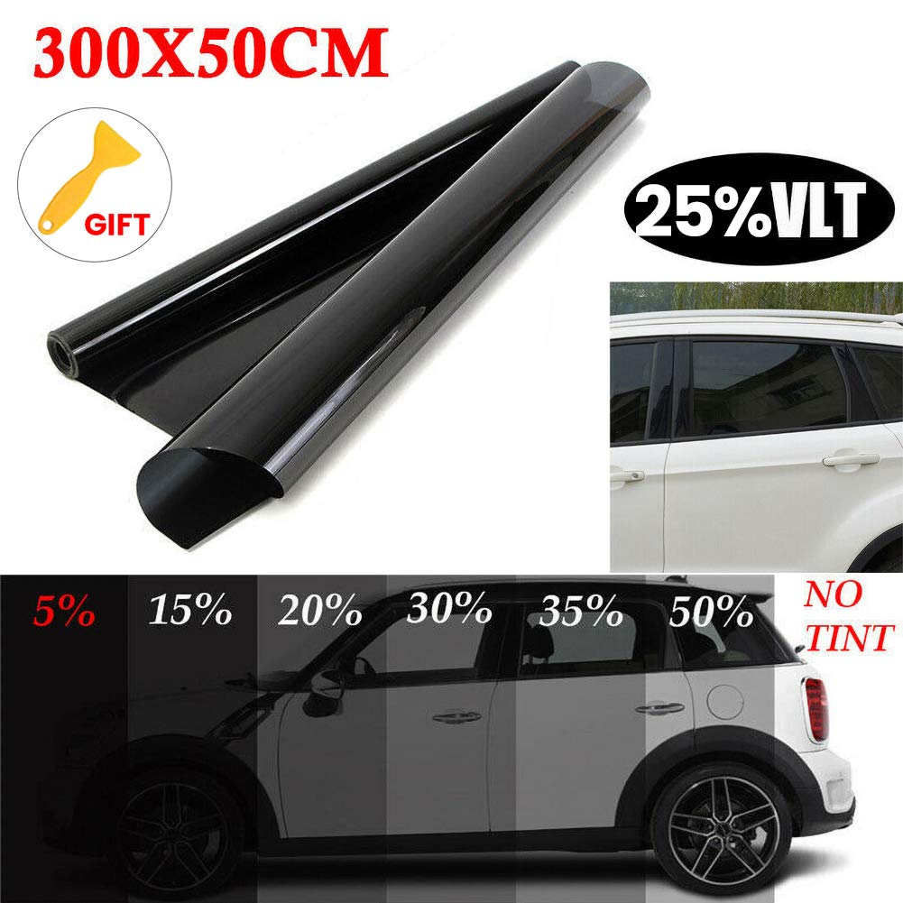 housesweet Tint Film Roll Car Window UV Protection Adhesive 10ft Feet Sun Shade for Pet Baby Protection