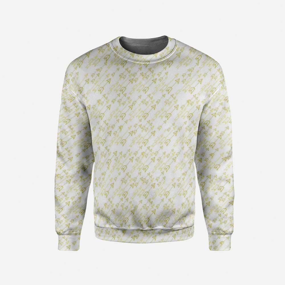 iPrint Mens Blue Pullover Sweater