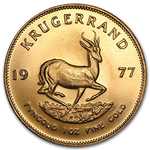 1977 ZA South Africa 1 oz Gold Krugerrand 1 OZ About Uncirculated ()