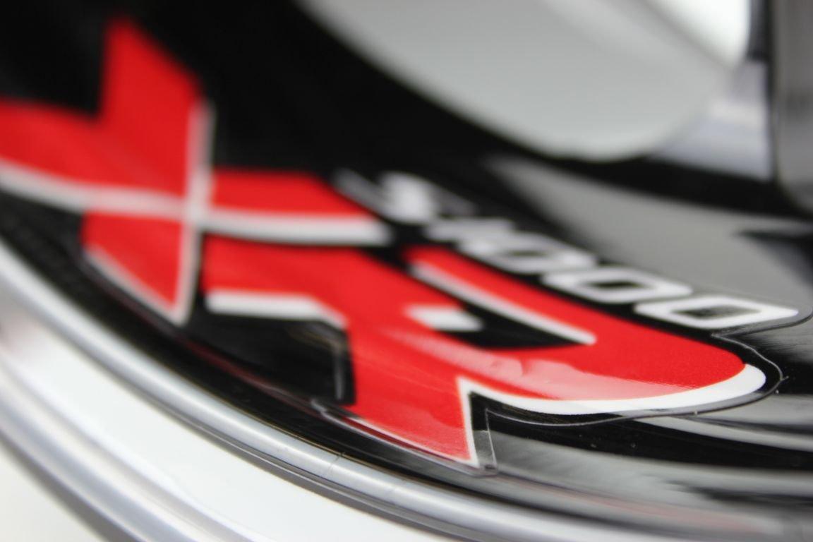 Liserets de jantes SpecialGP Moto BMW S1000XR Blanche Autocollants