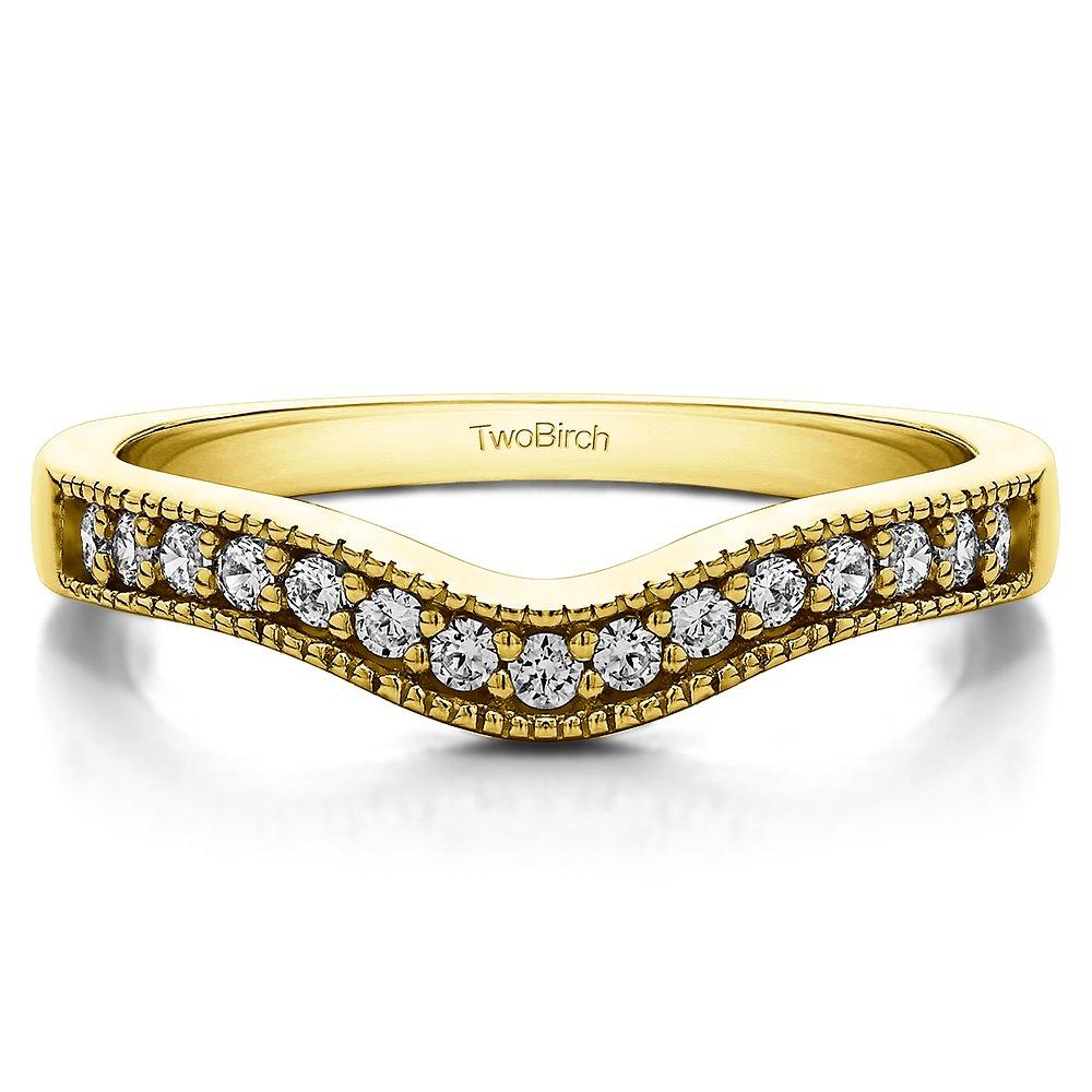 Jewelry & Watches 0.75 Carat G-h Diamond Filigree Starburst Design Ring Band Set 14k White Gold Engagement & Wedding