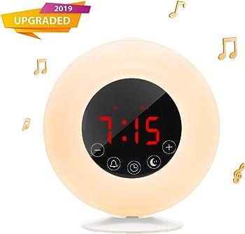 Outtdoor Wake-Up Light Sunrise Dual Alarm Clock Radio