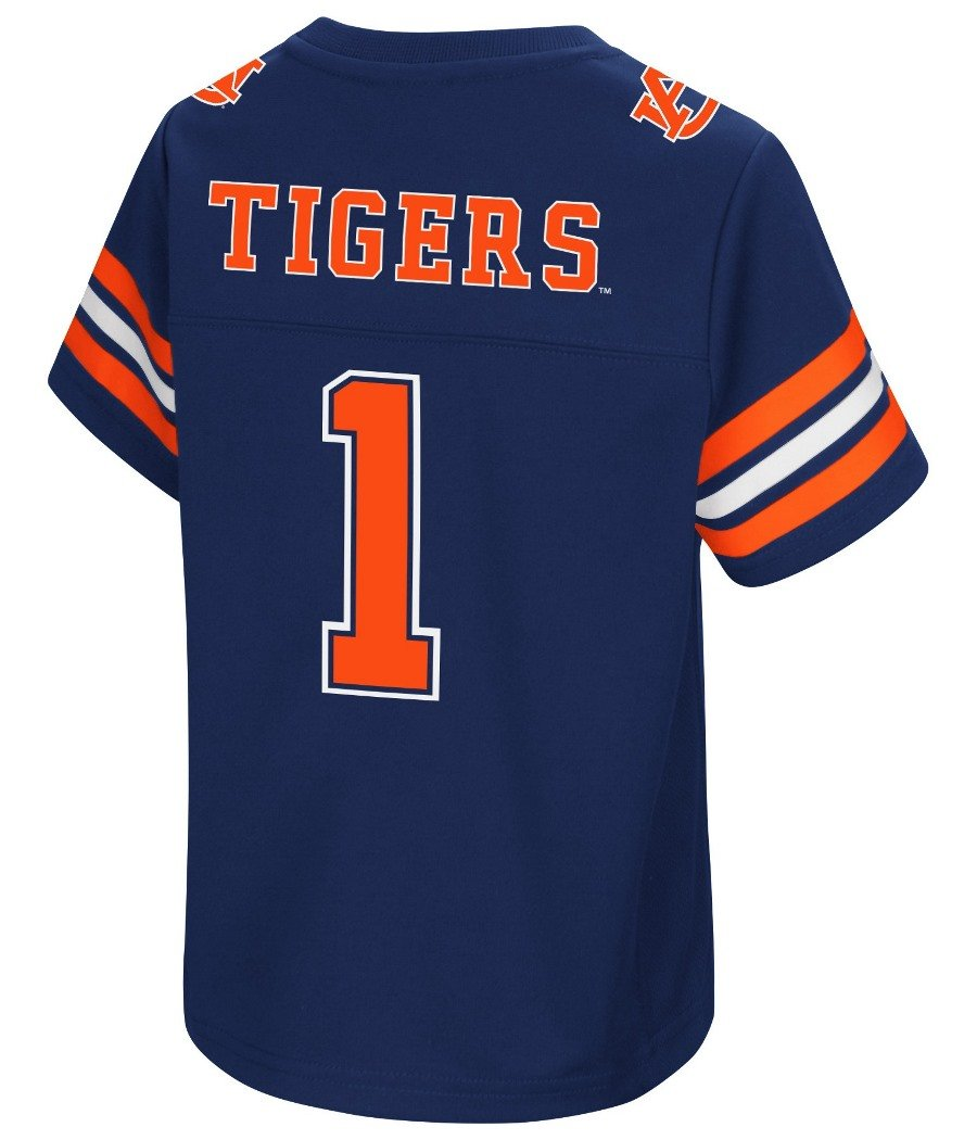 promo code 45568 d778e Colosseum Auburn Tigers NCAA Hail Mary Pass Toddler Football Jersey