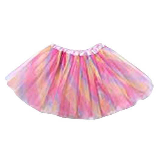 thematys Abito Ballerina Tutu per Ragazze in 4 Colori Diversi Gonna Party Skirt Glitter Tulle Perfetta per Il Carnevale, Carnevale o Festa di