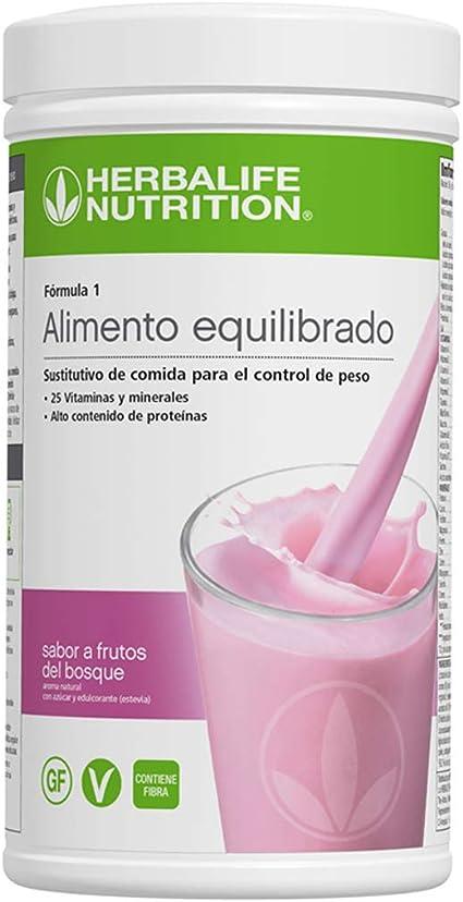 Batido Fórmula 1 550g - (Manzana y especias) | Herbalife: Amazon.es: Salud y cuidado personal