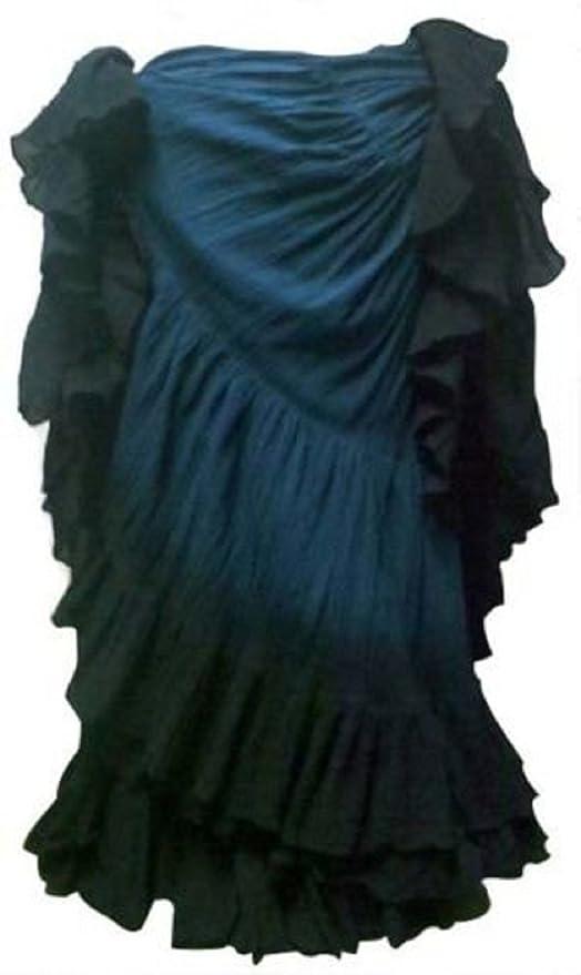 Dancers World Ltd (UK Seller) El más Oscuro del Trullo Azul Negro ...