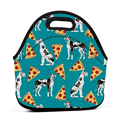 aa78478841b6 Amazon.com - ONUPMIN Ideal Gifts - Insulated Lunch Bag Great Dane ...