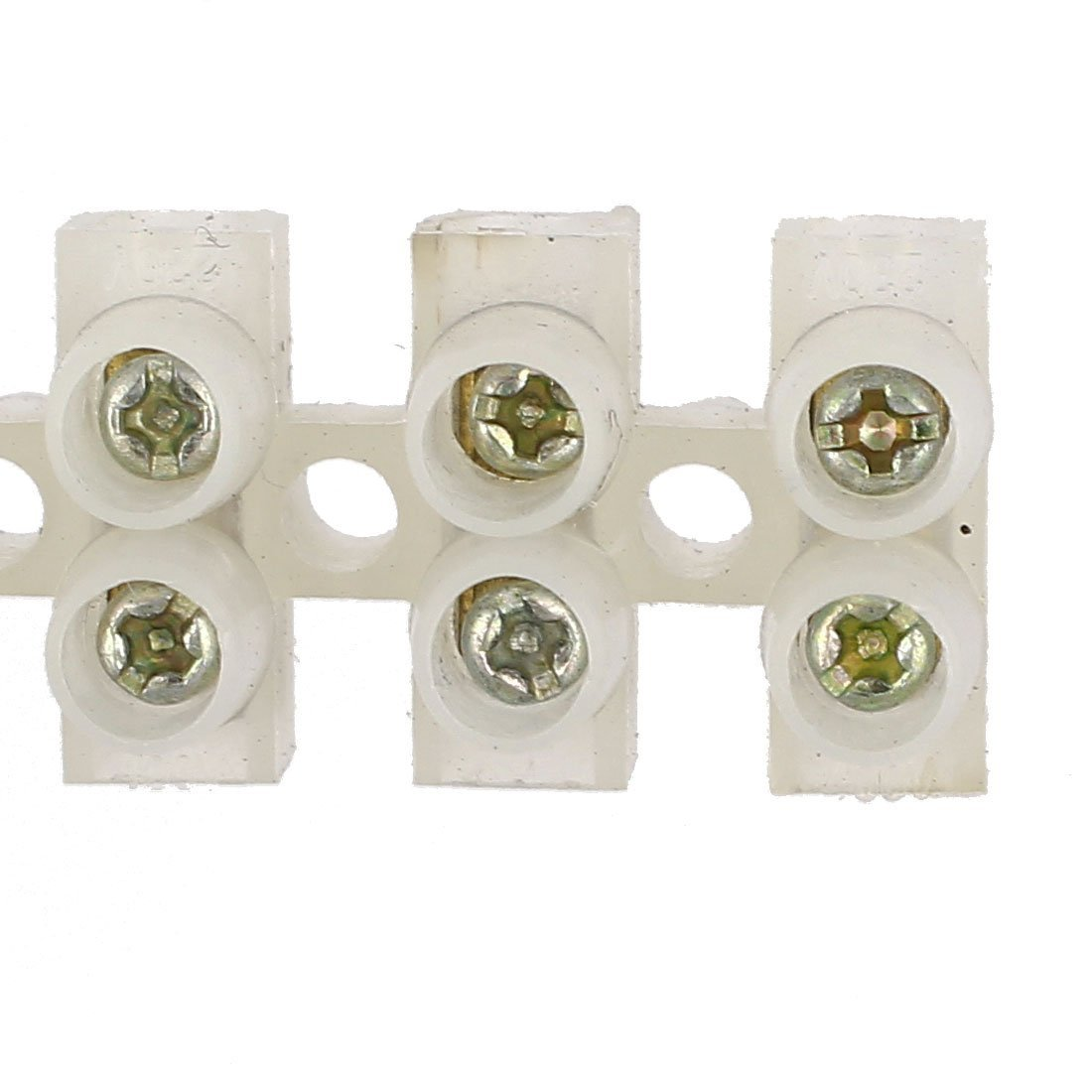 uxcell 12 Position Barrier Terminal Strip Block Wire Connector X3-0612 10pcs a16031100ux0323