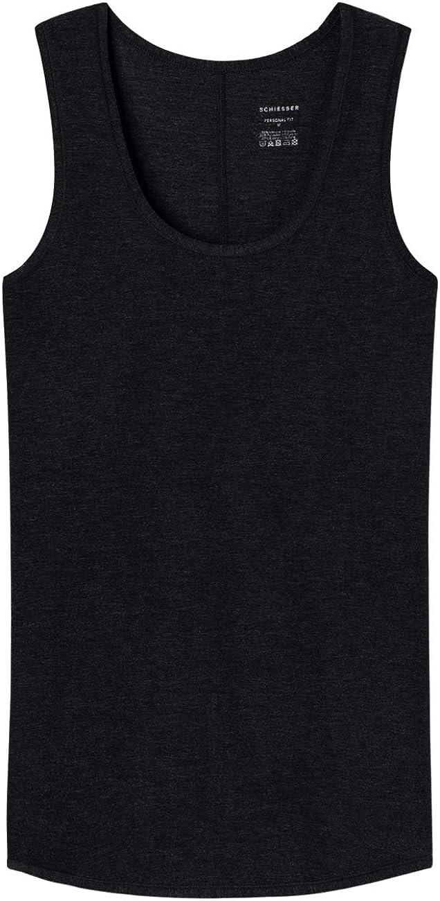 Schiesser Personal Fit Tank Top Camiseta sin Mangas para Mujer