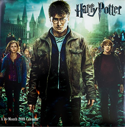 2018 Wall Calendar Featuring Breathtaking Scenes Of Harry Potter Movie   Hermione Dumbledore Voldemort Ron Malfoy Hagrid & Others   16 Months To Plan Schedule & Organize   12 X 24 inches While open