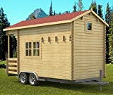 Allwood Pioneer | 171 SQF Tiny Home, Kit Cabin